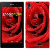 Чехол на Sony Xperia Z1 C6902 Красная роза 529c-38
