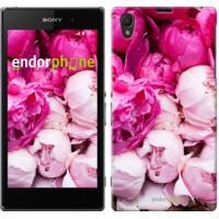 Чехол на Sony Xperia Z1 C6902 Розовые пионы 2747c-38