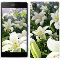 Чехол для Sony Xperia Z2 D6502/D6503 Белые лилии 2686c-43