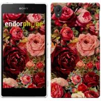 Чехол для Sony Xperia Z2 D6502/D6503 Цветущие розы 2701c-43