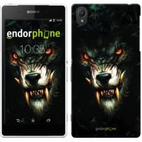Чехол для Sony Xperia Z2 D6502/D6503 Дьявольский волк 833c-43