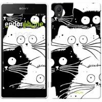 Чехол для Sony Xperia Z2 D6502/D6503 Коты v2 3565c-43