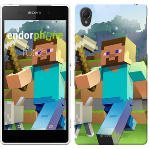 Чехол для Sony Xperia Z2 D6502/D6503 Minecraft 4 2944c-43