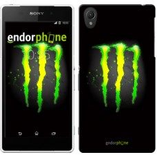 Чехол для Sony Xperia Z2 D6502/D6503 Monster energy 821c-43