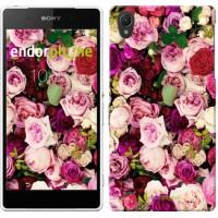 Чехол для Sony Xperia Z2 D6502/D6503 Розы и пионы 2875c-43