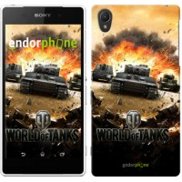 Чехол для Sony Xperia Z2 D6502/D6503 World of tanks v1 834c-43