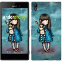 Чехол для Sony Xperia Z3+ Dual E6533 Девочка с зайчиком 915u-165