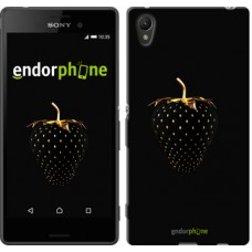 Чехол для Sony Xperia Z3+ Dual E6533 Черная клубника 3585u-165