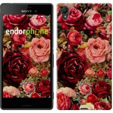 Чехол для Sony Xperia Z3+ Dual E6533 Цветущие розы 2701u-165