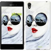 Чехол для Sony Xperia Z3+ Dual E6533 Девушка акварелью 2829u-165