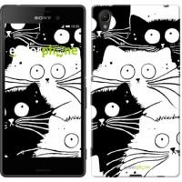Чехол для Sony Xperia Z3+ Dual E6533 Коты v2 3565u-165