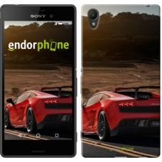 Чехол для Sony Xperia Z3+ Dual E6533 Lamborghini v2 2948u-165