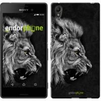 Чехол для Sony Xperia Z3+ Dual E6533 Лев 1080u-165