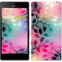 Чехол для Sony Xperia Z3+ Dual E6533 Листья 2235u-165