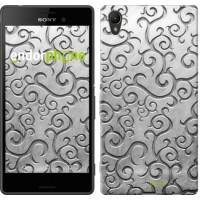 Чехол для Sony Xperia Z3+ Dual E6533 Металлический узор 1015u-165