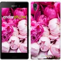 Чехол для Sony Xperia Z3+ Dual E6533 Розовые пионы 2747u-165
