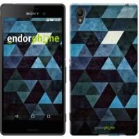 Чехол для Sony Xperia Z3+ Dual E6533 Треугольники 2859u-165