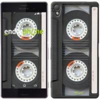Чехол для Sony Xperia Z3 D6603 Кассета 876c-58
