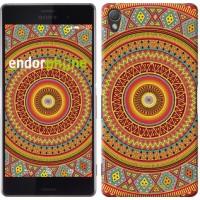 Чехол для Sony Xperia Z3 D6603 Индийский узор 2860c-58