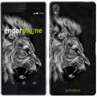 Чехол для Sony Xperia Z3 D6603 Лев 1080c-58