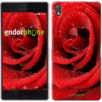 Чехол для Sony Xperia Z3 D6603 Красная роза 529c-58