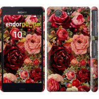 Чехол для Sony Xperia Z3 Compact D5803 Цветущие розы 2701c-277