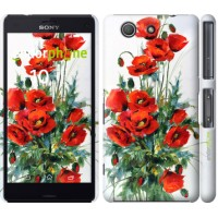 Чехол для Sony Xperia Z3 Compact D5803 Маки 523c-277