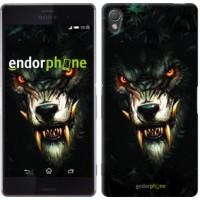Чехол для Sony Xperia Z3 D6603 Дьявольский волк 833c-58