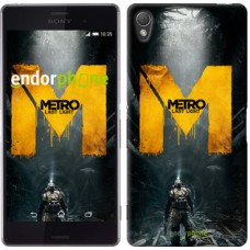 Чехол для Sony Xperia Z3 D6603 Metro. Last light 631c-58