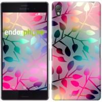 Чехол для Sony Xperia Z3 dual D6633 Листья 2235c-59