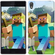 Чехол для Sony Xperia Z3 dual D6633 Minecraft 4 2944c-59