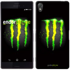 Чехол для Sony Xperia Z3 dual D6633 Monster energy 821c-59