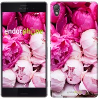 Чехол для Sony Xperia Z3 dual D6633 Розовые пионы 2747c-59