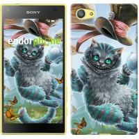 Чехол для Sony Xperia Z5 Compact E5823 Чеширский кот 3993c-322