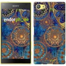Чехол для Sony Xperia Z5 Compact E5823 Золотой узор 678c-322