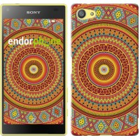 Чехол для Sony Xperia Z5 Compact E5823 Индийский узор 2860c-322