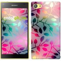 Чехол для Sony Xperia Z5 Compact E5823 Листья 2235c-322