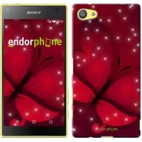 Чехол для Sony Xperia Z5 Compact E5823 Лунная бабочка 1663c-322