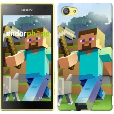 Чехол для Sony Xperia Z5 Compact E5823 Minecraft 4 2944c-322