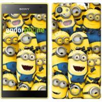Чехол для Sony Xperia Z5 Compact E5823 Миньоны 8 860c-322