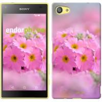 Чехол для Sony Xperia Z5 Compact E5823 Розовая примула 508c-322