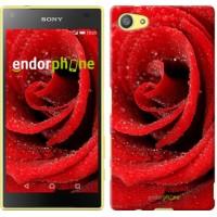 Чехол для Sony Xperia Z5 Compact E5823 Красная роза 529c-322