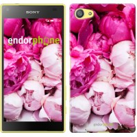 Чехол для Sony Xperia Z5 Compact E5823 Розовые пионы 2747c-322