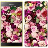 Чехол для Sony Xperia Z5 Compact E5823 Розы и пионы 2875c-322