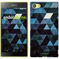 Чехол для Sony Xperia Z5 Compact E5823 Треугольники 2859c-322