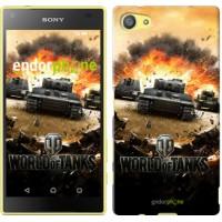 Чехол для Sony Xperia Z5 Compact E5823 World of tanks v1 834c-322