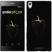 Чехол для Sony Xperia Z5 Premium Черная клубника 3585u-345
