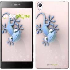 Чехол для Sony Xperia Z5 Premium Гекончик 1094u-345