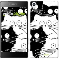 Чехол для Sony Xperia Z5 Premium Коты v2 3565u-345