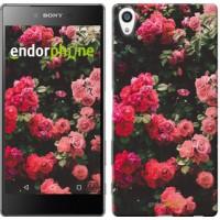 Чехол для Sony Xperia Z5 Premium Куст с розами 2729u-345